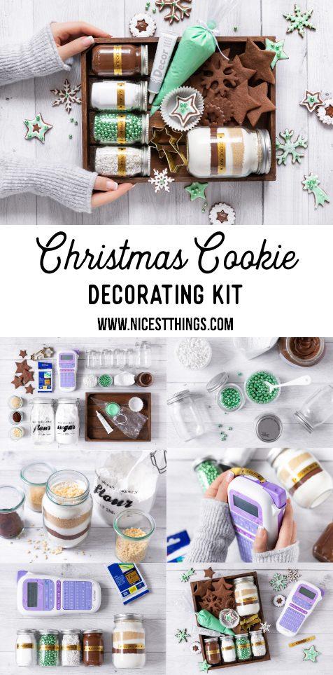 Werbung / Christmas Cookie Decorating Kit DIY Weihnachtsgeschenk Plätzchen Set #diy #cookies #christmas #cookiedecorating #brother #ptouch #cookiedecoratingkit #plätzchen #weihnachtsgeschenk #geschenkeausderküche #diyweihnachten #geschenkideen