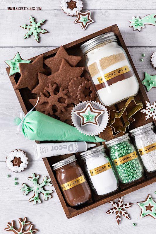 DIY Weihnachtsgeschenk Cookie Decorating Kit DIY Plätzchen Set #weihnachtsgeschenk #diyweihnachten #diyweihnachtsgeschenk #cookiedecoratingkit #cookies #geschenkeausderküche #plätzchen #weihnachten