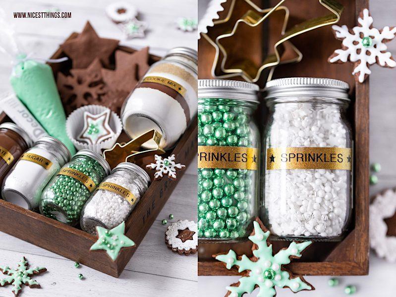 Cookie Decorating Kit DIY Plätzchen Set Geschenkidee