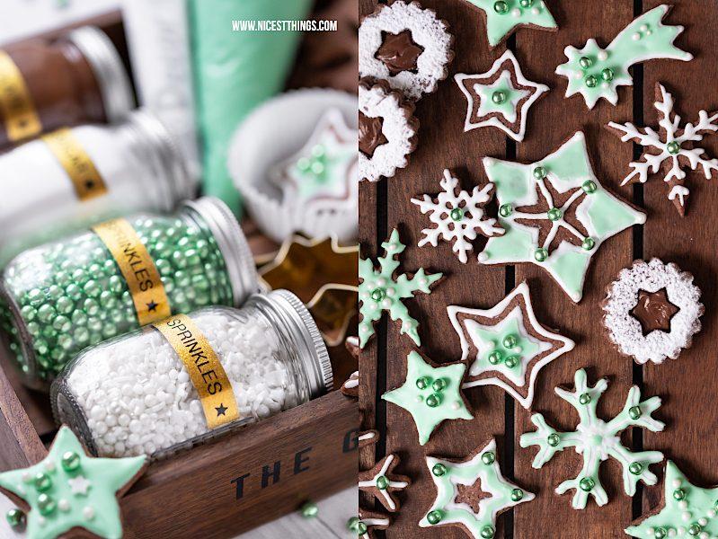 Cookie Decorating Kit DIY Plätzchen Set DIY Weihnachtsgeschenk