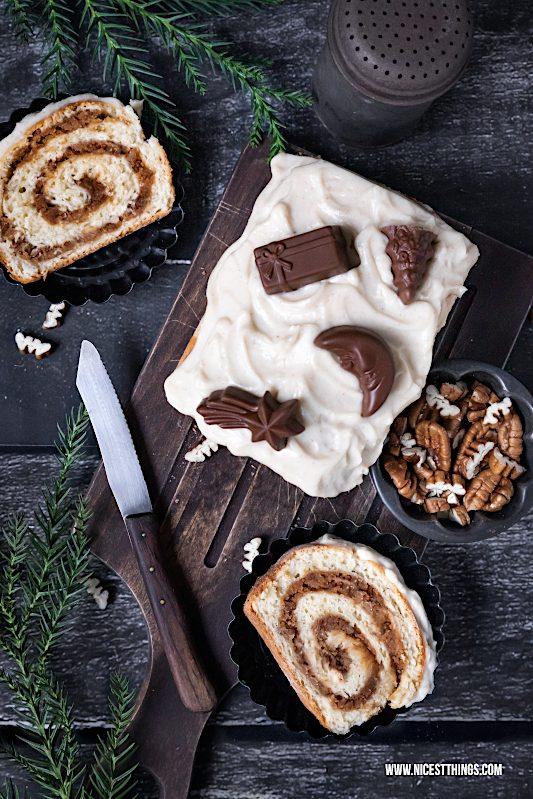 Maple Pecan Bourbon Cake Ahornsirup Pekannuss Whiskey Kuchen Spekulatius Zimt #weihnachtskuchen #zimtkuchen #maple #pecan #bourbon #whiskey #spekulatius #swirlcake #quarkölteig