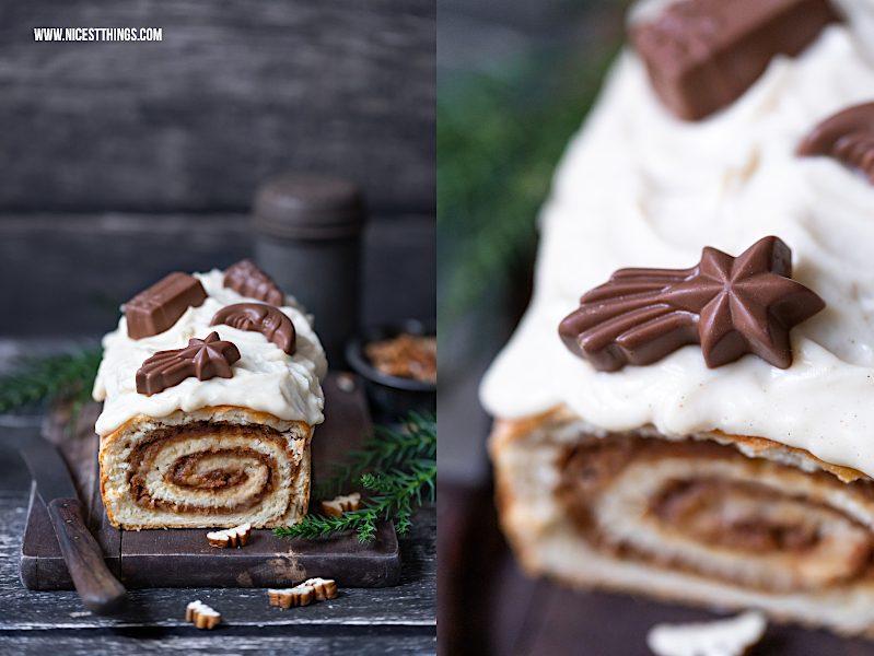 Maple Bourbon Pecan Kuchen Weihnachtskuchen Zimt Spekulatius Ahornsirup Pekannüsse Whiskey