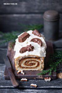 Weihnachtskuchen Zimt Spekulatius Pekannüsse Bourbon Whiskey #weihnachtskuchen #zimt #spekulatius #bourbon #whiskey #ahornsirup #maple #pecan #cake #swirl #christmas