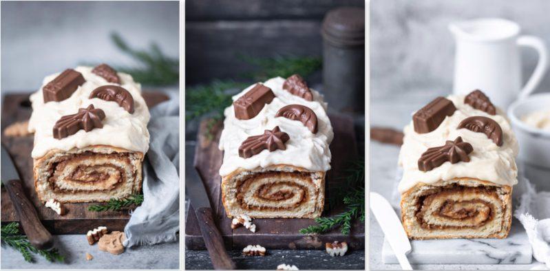 Bourbon Maple Pecan Cake Weihnachtskuchen Spekulatius Zimt Ahornsirup Pekannüsse Bourbon Whiskey
