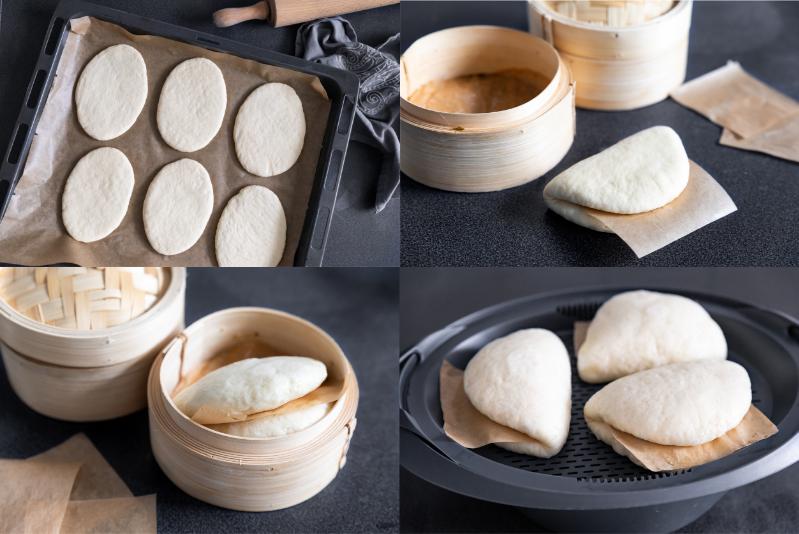 Bao Buns Thermomix Rezept für Gua Bao Burger
