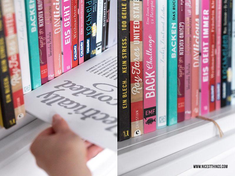 Bücherregal aufräumen Tipps und Tricks Bücher ausmisten Marie Kondo Konmari