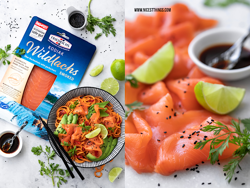 Friedrichs Kodiak Wildlachs smoked Lachs Rezept #friedrichs #friedrichsfeinfisch
