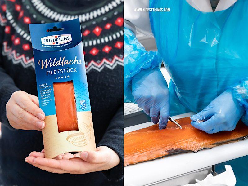Wildlachs Filetstück Friedrichs Fisch Feinfisch Manufactur Alaska Wildlachs