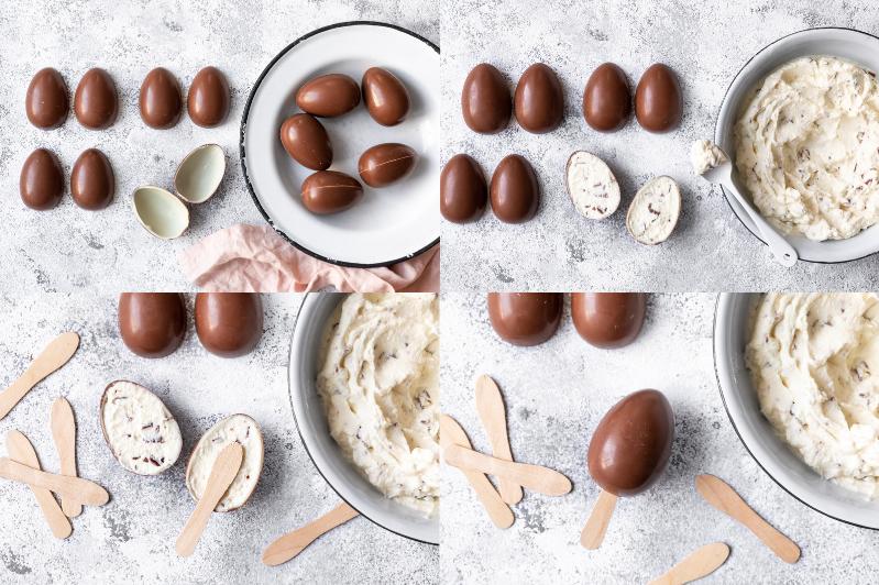 Eis zu Ostern selber machen