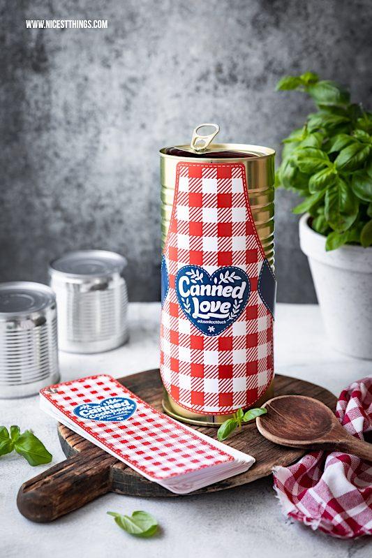 Dosenkochbuch Initiative Lebensmitteldose Dosen Rezepte Canned Love #dosenkochbuch