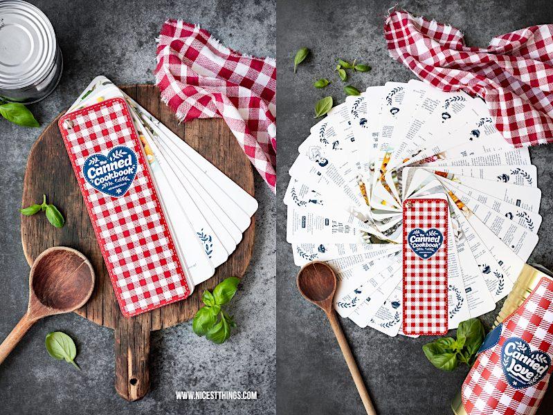 Initiative Lebensmitteldose Dosen Kochbuch #dosenkochbuch Canned Love