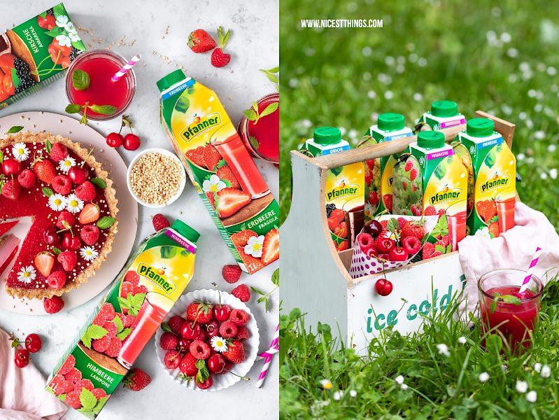 Werbung Himbeersaft Pfanner Erdbeersaft Rezept