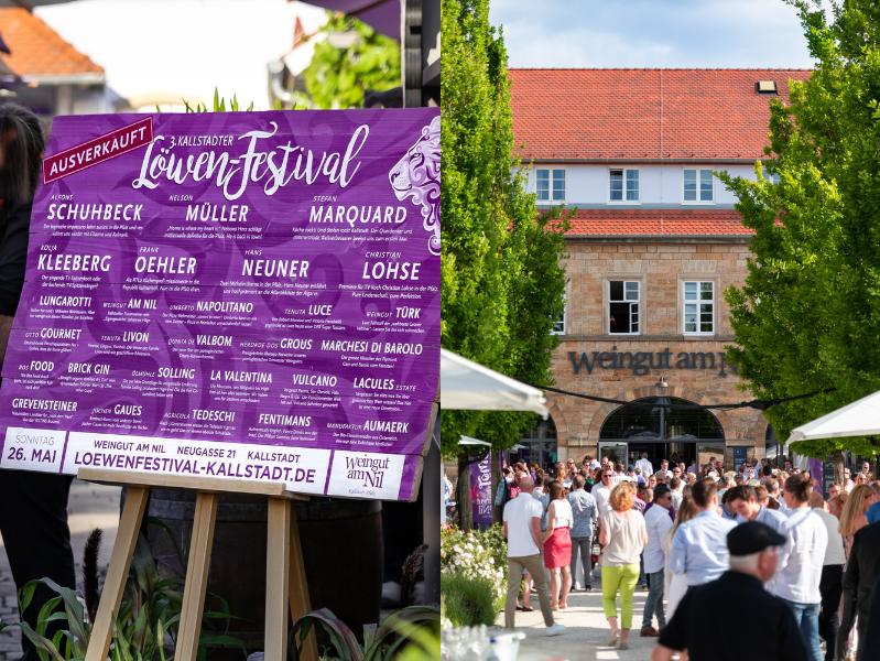 3. Kallstadter Löwenfestival Weingut am Nil 2019 Line Up