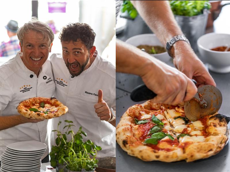 Umberto Napolitano Pizza Weltmeister Löwenfestival Kallstadt