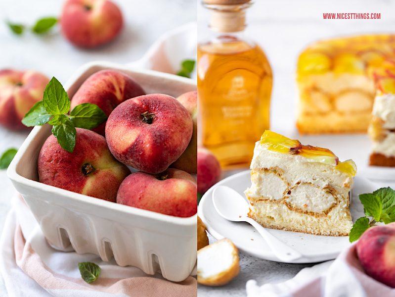 Windbeutel Torte Rezept Windbeuteltorte mit Weinbergpfirsich Pfirsich Pfirsichkuchen