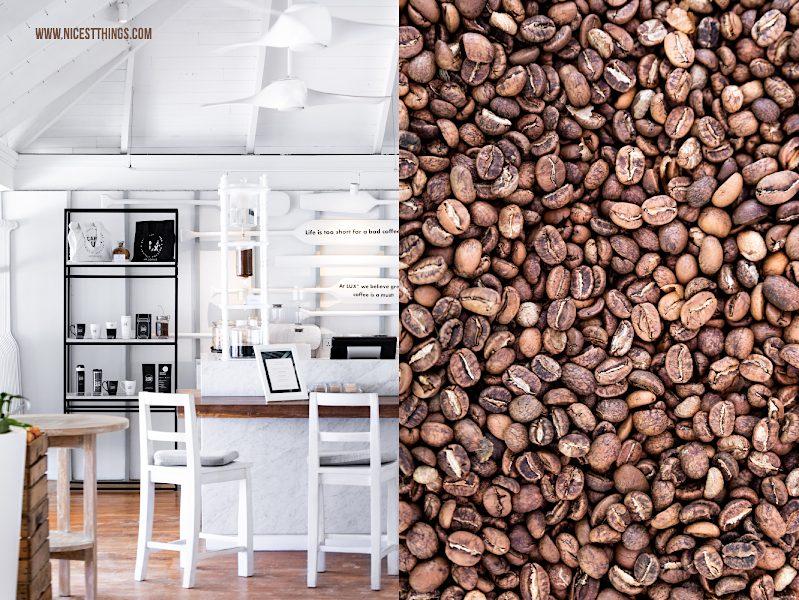 Café LUX Malediven Kaffee