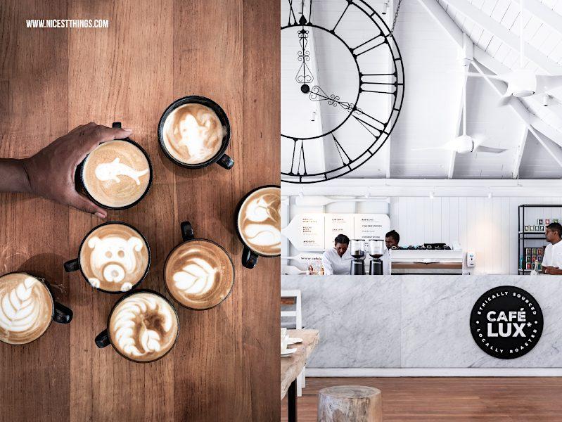Latte Art Café Lux Malediven