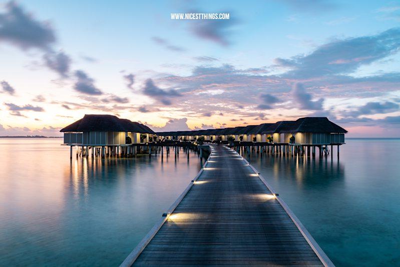 Malediven Häuser Aqua Villas