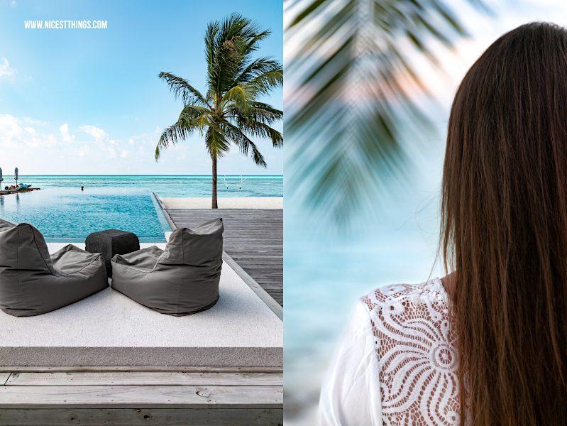Infinity Pool Malediven Hotel