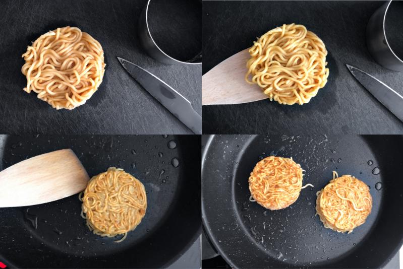 Ramen Burger Rezept Ramenburger selber machen