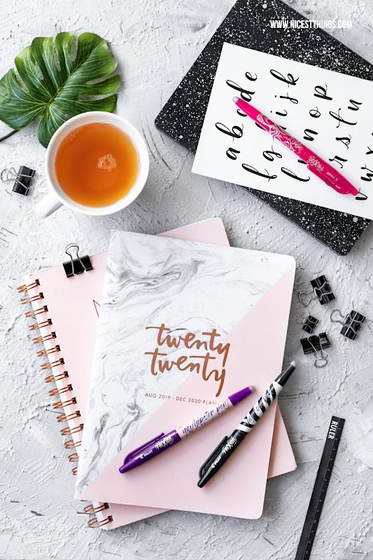 Bullet Journal Ideen Planer Notizbücher Journals #bulletjournal #journal #planner #organizing #pilotpen #pilotfrixion