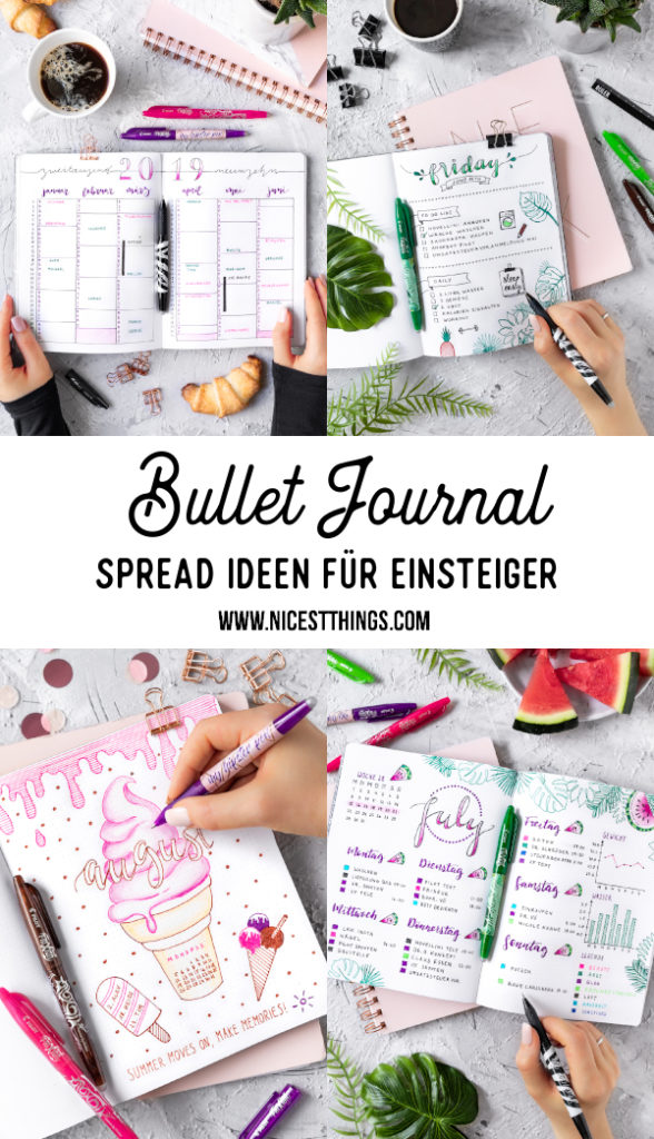 Bullet Journal Ideen Anfänger Journaling Bujo Spreads #bulletjournal #bujo #monthlyspread #bujospread #dailyspread #weeklyspread #spreadideas