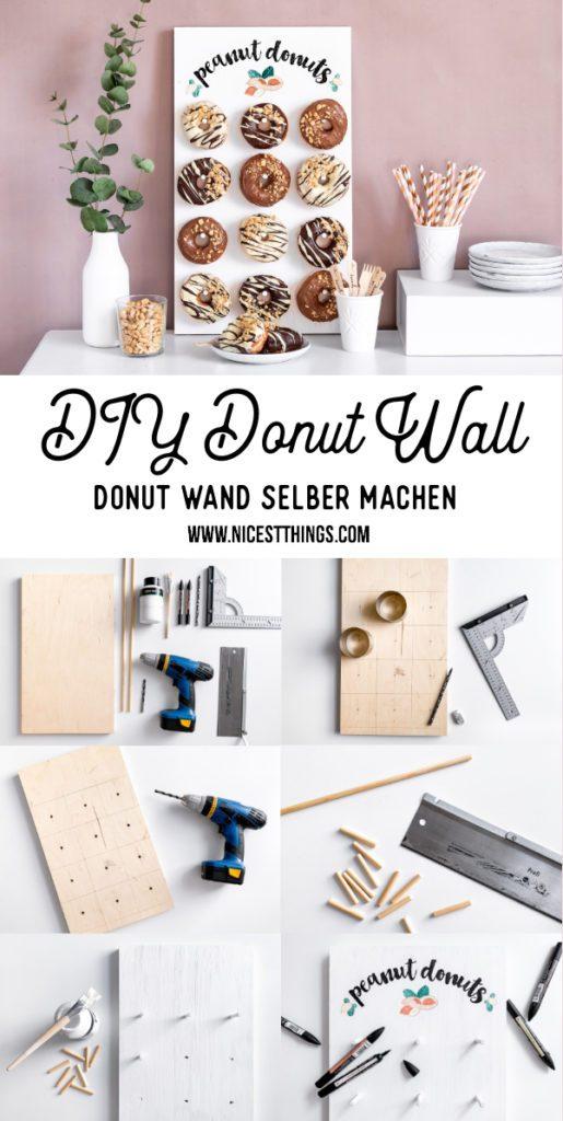 Donut Wand selber machen Donut Wall DIY Hochzeit Party Erdnuss Donuts #ültje #erdnuss #erdnüsse #tagdererdnuss #erdnussparty #donutwand #donutwall #donut #donuts #hochzeit #wedding #diy #peanuts