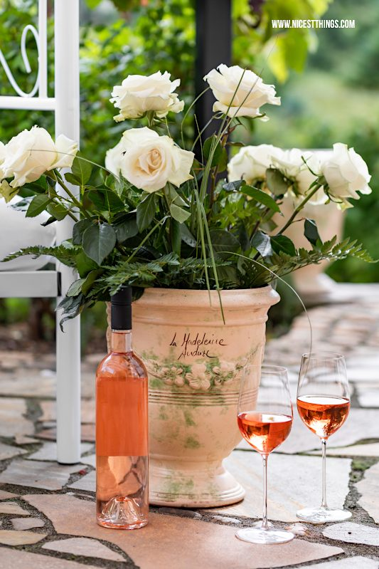 Wein der Provence Rosé #myprovencemoment #provencewines #provence #rosewine #terrasse #lavieenrosé