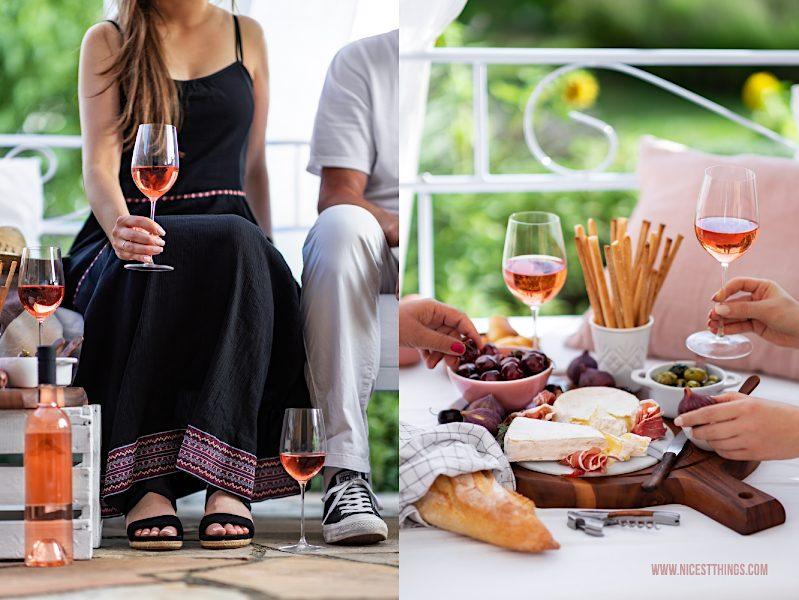 Vins de Provence Rosé Wein Côtes de Provence zum Aperitif