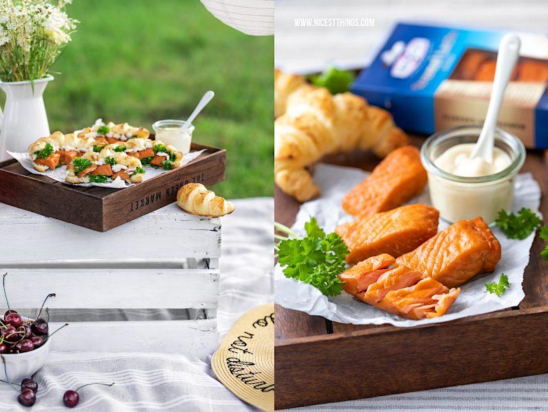 Friedrichs Feinfisch Manufactur Stremel Lachs Rezept herzhafte Croissants