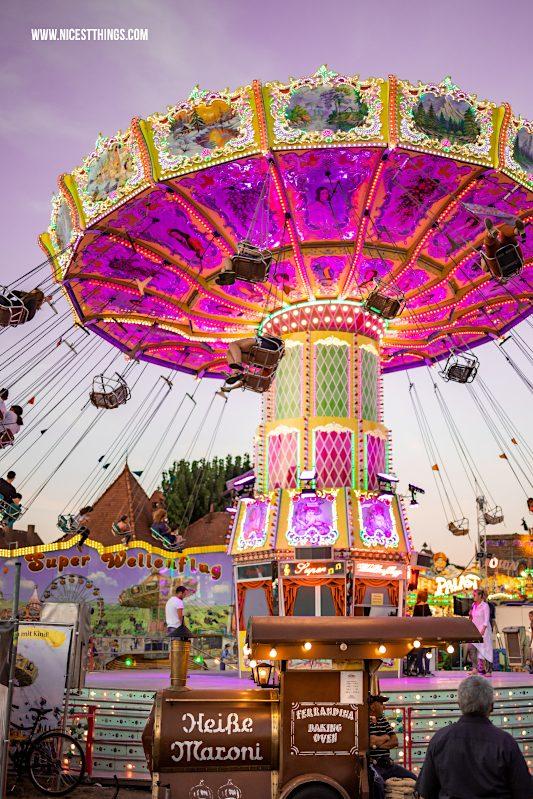 Wurstmarkt Bad Dürkheim Kettenkarussell Wellenflug #wurstmarkt #baddürkheim #kettenkarussell #wellenflug #funfair #karussell