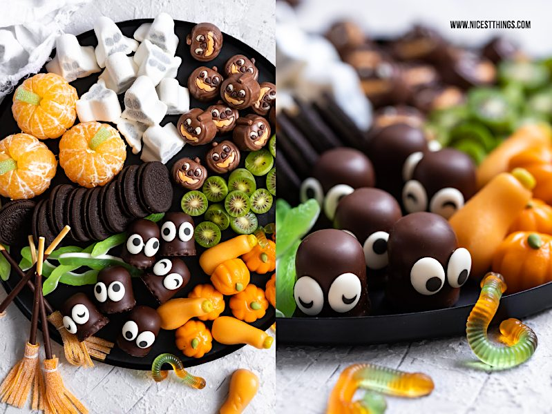 Halloween Fingerfood Halloween Candy Board Halloween Grazing Board Party