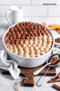 Kürbis Tiramisu Pumpkin Spice Tiramisu Kürbisrezepte #kürbis #tiramisu #kürbistiramisu #pumpkinspice #pumpkin #herbstrezepte #kürbisrezepte