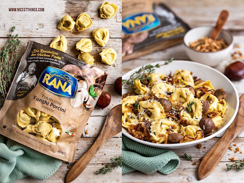 Giovanni Rana Tortelloni Funghi Porcini Rezept