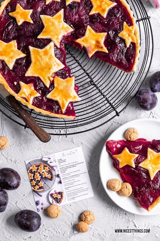 Visitenkarten selber erstellen mit Rezept Foodblogger Vistaprint Zwetschgentarte Zwetschgen Pie #visitenkarten #foodblogger #vistaprint #zwetschgen #tarte #obstkuchen #herbstkuchen