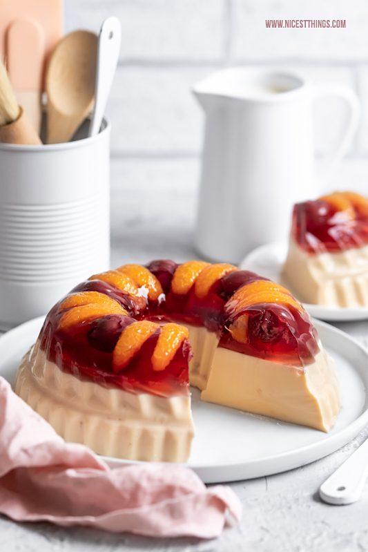 Götterspeise Torte Wackelpudding Kuchen Guglhupf #götterspeise #wackelpudding #torte #kuchen #geburtstag #kindergeburtstag #dessert #initiativelebensmitteldose #lebensmitteldose #dose #metalrecyclesforever