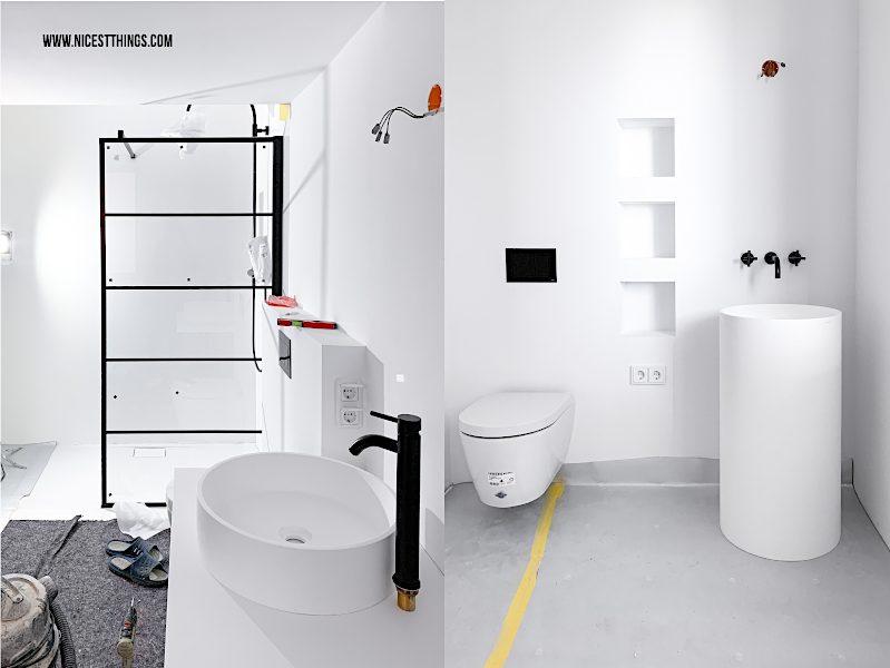 Loft Badezimmer Novellini Duschabtrennung