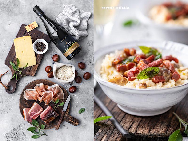 Qualitaetsprodukte aus Suedtirol Stilfser Käse Südtiroler Speck Wein #stilfserkaese #speck #altoadige #QualitaetEuropa #EnjoyItsFromEurope #tastesouthtyrol