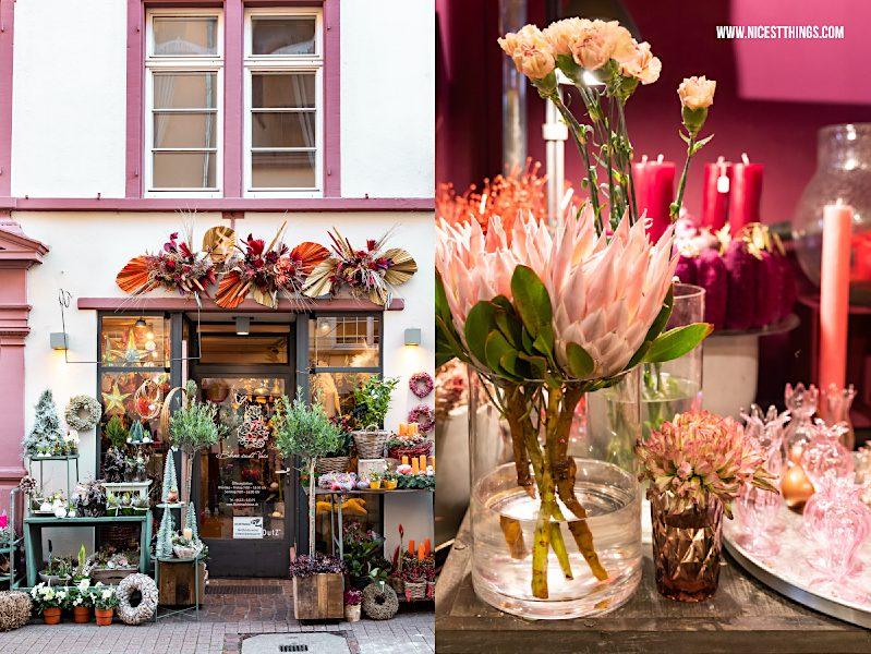 Heidelberg Shopping Tipps: Blume sucht Vase Heidelberg Blumenladen Floristik Blumen Susanne Diehl