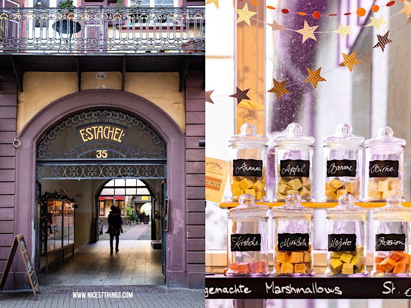 Heidelberg Shopping Tipps: L'Epicerie Heidelberg Feinkost Gewürze Essig Öl Schokolade Süßigkeiten