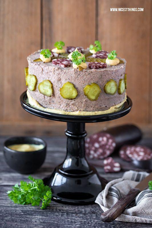Leberwursttorte Leberwurst Torte Rezept Brottorte Herrentorte Pfälzer Art Geburtstagstorte Männer #leberwurst #torte #leberwursttorte #geburtstagstorte #männertorte #pfalz #brottorte