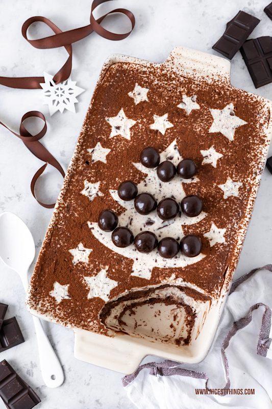 Schoko Lasagne Schokoladen Lasagne Rezept #schokolasagne #schokoladenlasagne #schokolade #dessert #weihnachtsdessert #tiramisu