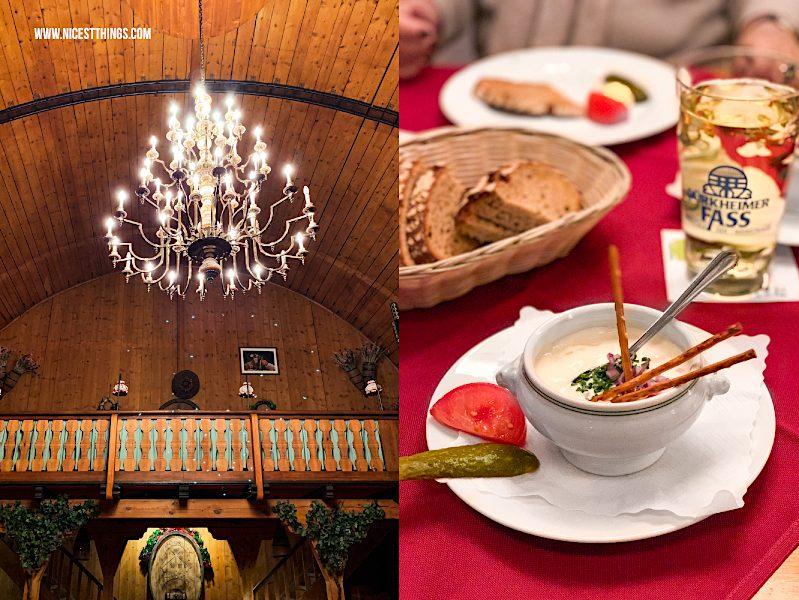 Bad Dürkheim Fass Riesenfass Restaurant Bütt