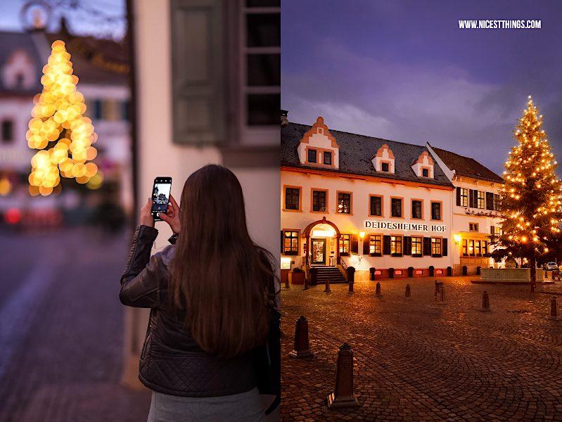Deidesheim Weihnachten Deidesheimer Hof