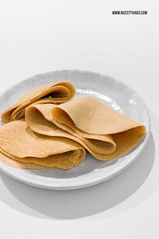 gesunde Pfannkuchen kalorienarme Pfannkuchen Rezept #gesund #pfannkuchen #kalorienarm #abnehmen #crepes