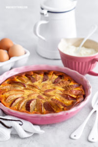 Low Carb Quarkauflauf Rezept kalorienarm Äpfel #lowcarb #quarkauflauf #kalorienarm #abnehmen #käsekuchen #cleaneating #quark