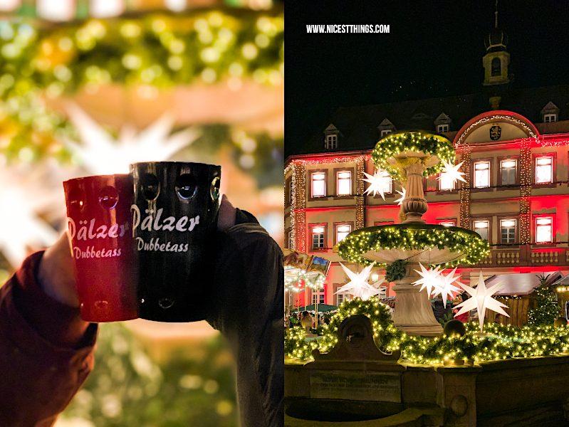 Weihnachtsmarkt Neustadt an der Weinstraße Pfälzer Dubbetass