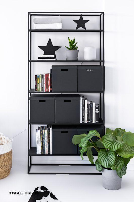 Metall Regal schwarz hoch Bücherregal Wohnzimmer #metallregal #regal #bücherregal #wohnzimmer