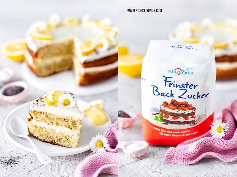 Feinster Back Zucker Südzucker einfaches Kuchen Rezept