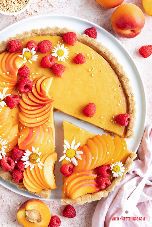 Aprikosen Tarte Rezept vegan kalorienarm glutenfrei #aprikosen #tarte #aprikosentarte #vegan #glutenfrei #kalorienarm #abnehmen